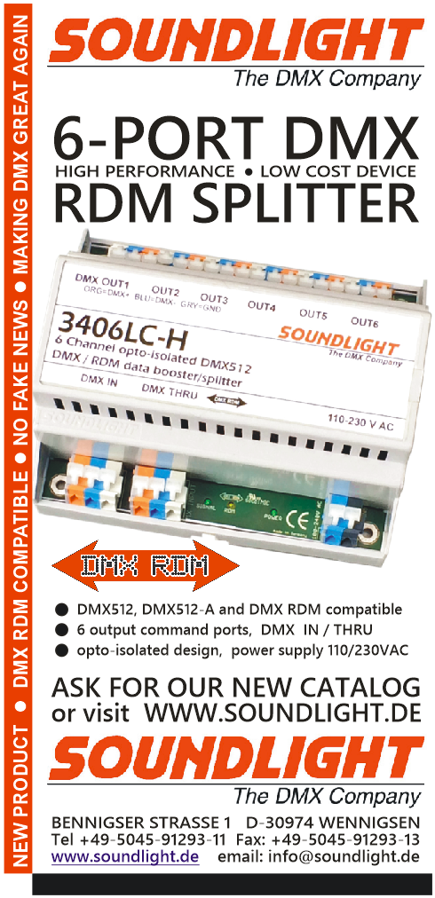SOUNDLIGHT - The DMX Company
