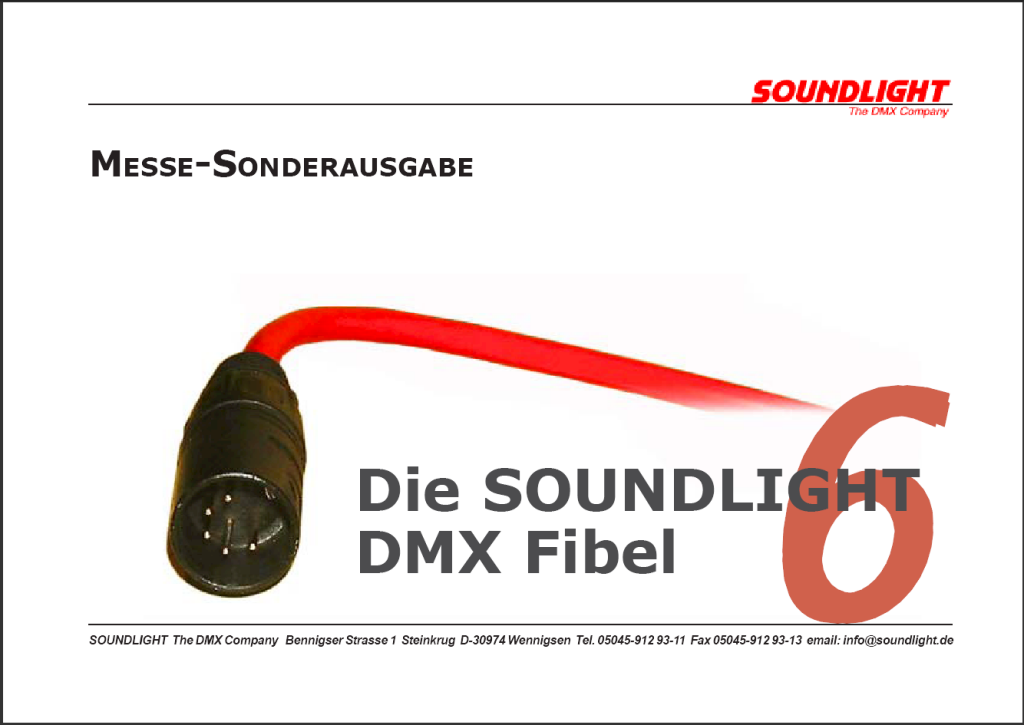 Die aktuelle SOUNDLIGHT DMX-Fibel 6