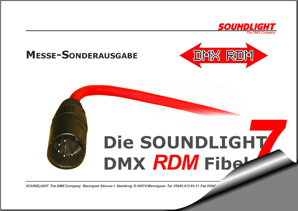 Die aktuelle SOUNDLIGHT RDM-Fibel 7