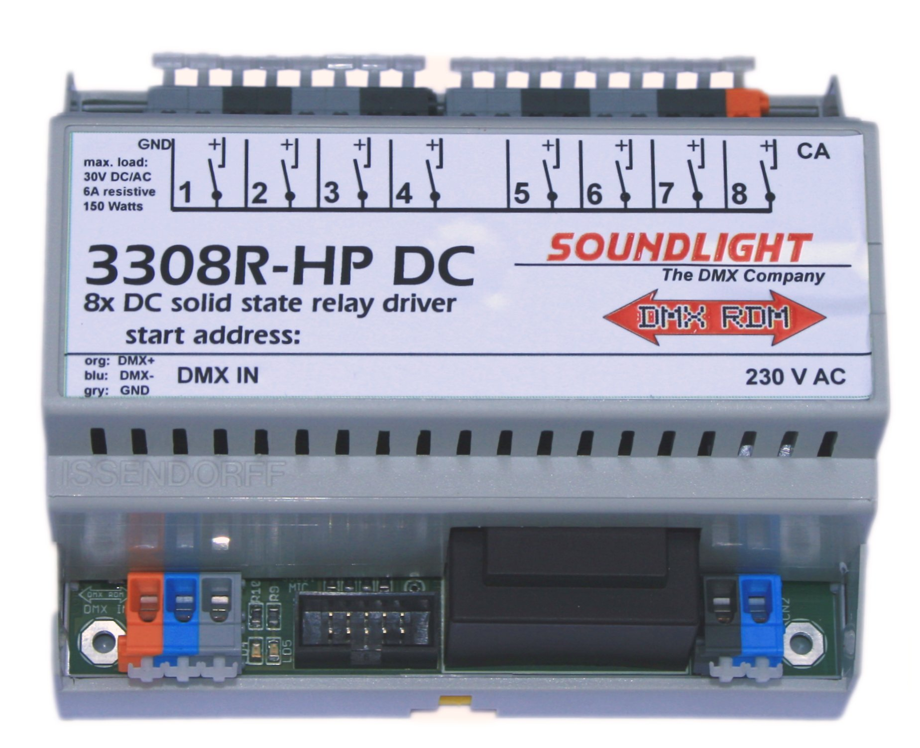 Dmx Ssr Solid State Relay Driver 3308r Hpdc